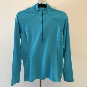 Patagonia Capilene 3 Blue Base Layer Top Size M